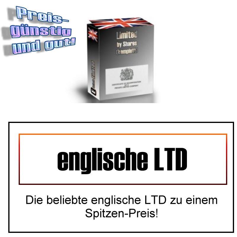 Standard-Gründung (24 Stunden) Englische Limited